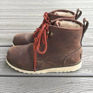 UGG Kids' K Maple Ii Lace-Up Boot